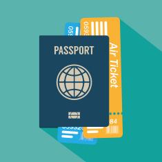 stock-illustration-85844829-passport-flat-icon