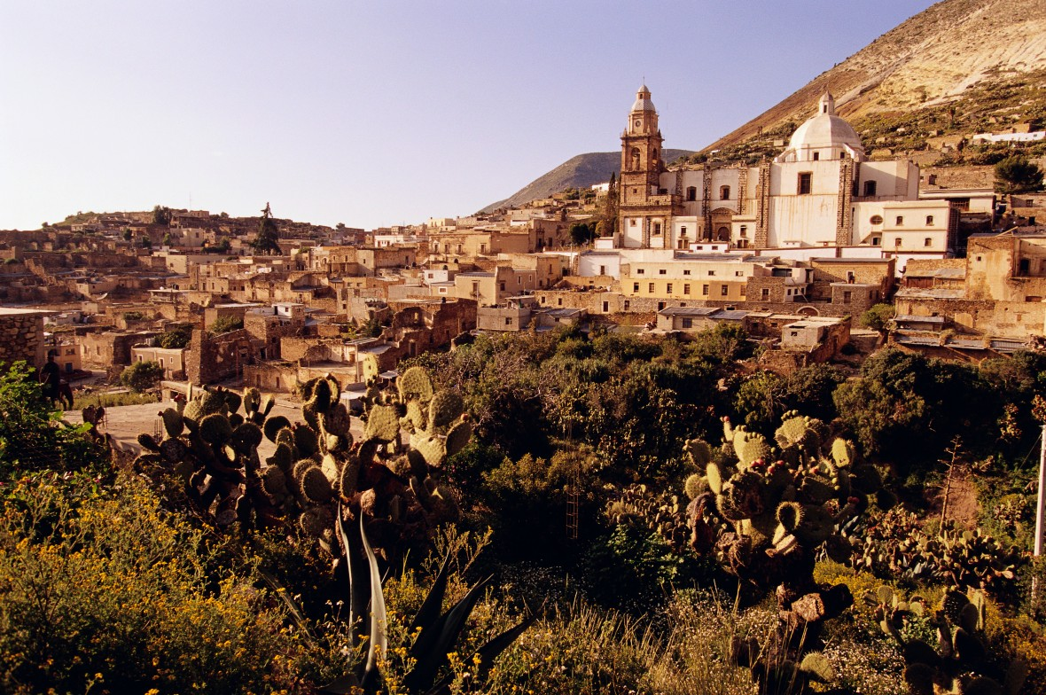 Overview of Real de Catorce